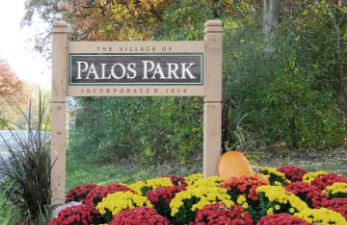 Palos Park Village Sign