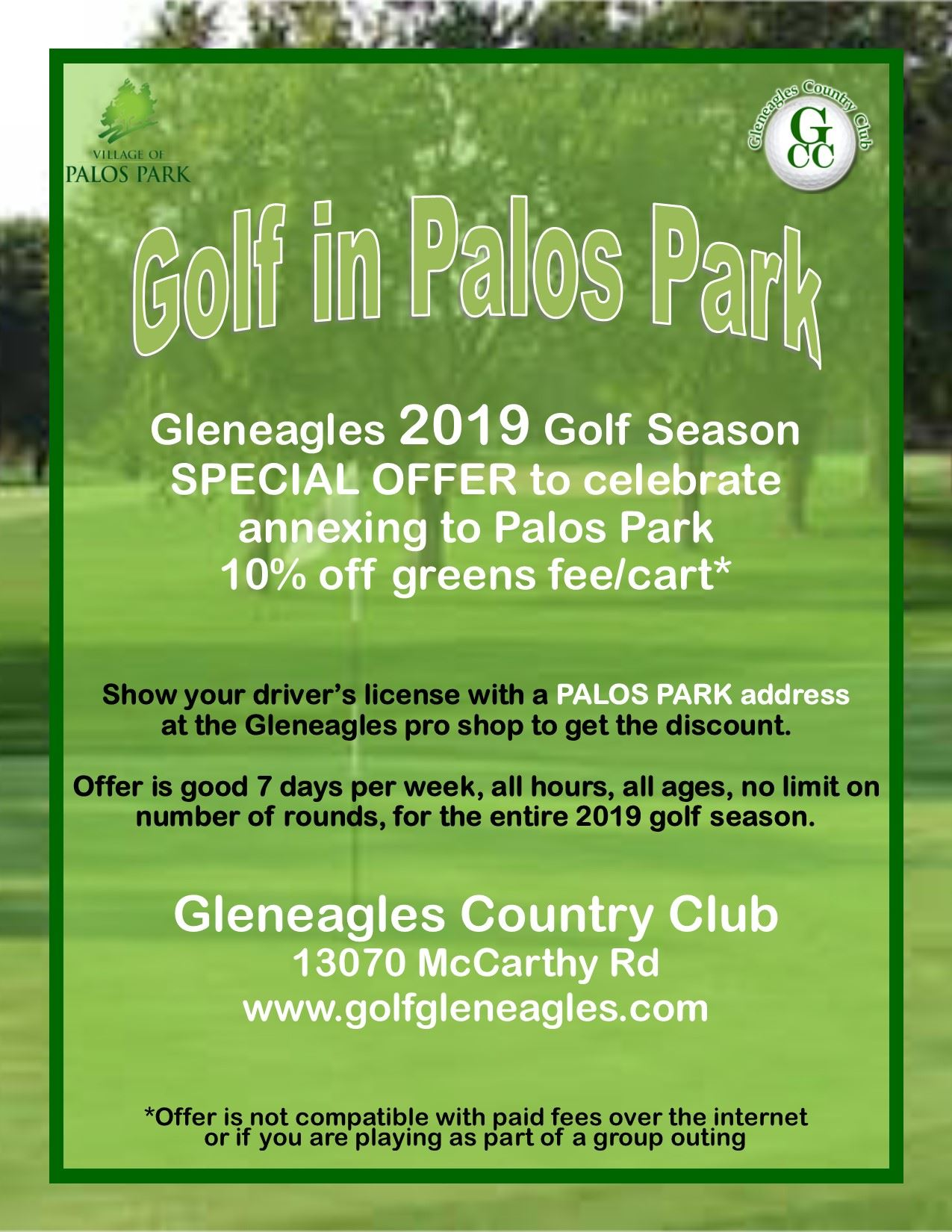 Golf--Gleneagles 2019 discount flyer (002) Opens in new window