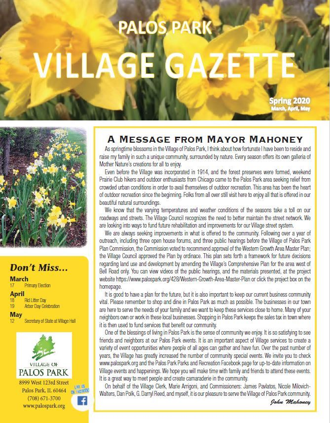 Village Gazette Opens in new window