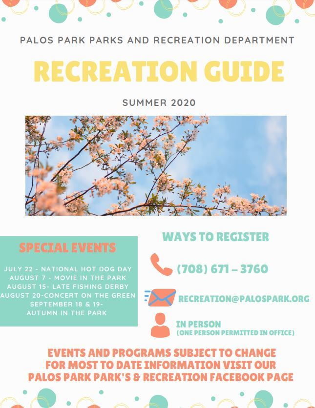 Recreation Guide Cover Opens in new window